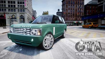 Range Rover Vogue for GTA 4