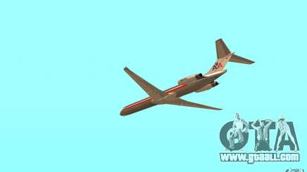 McDonnell Doeuglas MD-80 for GTA San Andreas