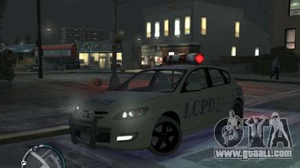 Mazda 3 Police for GTA 4