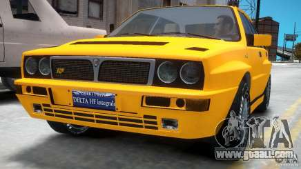Lancia Delta HF Integrale for GTA 4