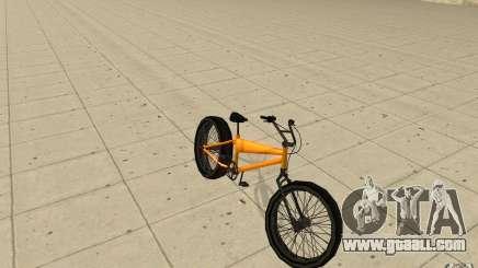 BMX Long Big Wheel Version for GTA San Andreas