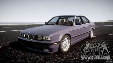 BMW 5 Series E34 540i 1994 v3.0 for GTA 4