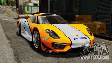Porsche 918 RSR Concept for GTA 4