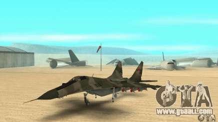 MIG-29 for GTA San Andreas