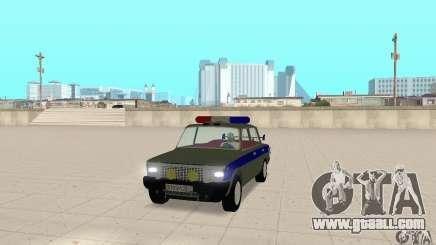 VAZ 2101 Police for GTA San Andreas