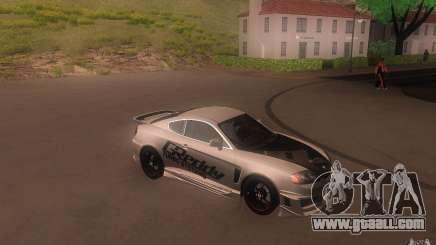 Hyundai Tiburon V6 Coupe tuning 2003 for GTA San Andreas