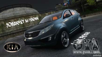Kia Sportage 2010 v1.0 for GTA 4