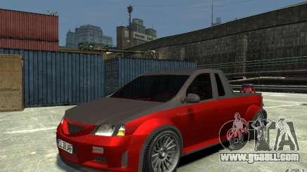 Dacia Pick-up Tuning for GTA 4