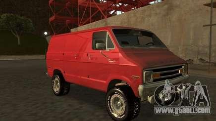 Dodge Tradesman 7z for GTA San Andreas