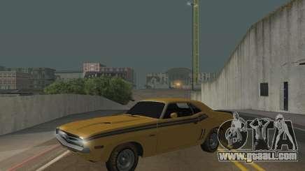 Dodge Chellenger V2.0 for GTA San Andreas