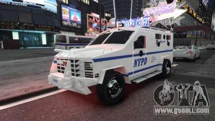 Lenco Bearcat NYPD ESU V.2 for GTA 4