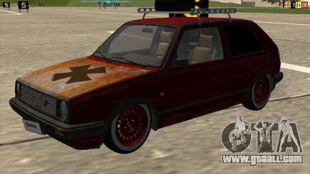 VW Golf II Shadow Crew for GTA San Andreas