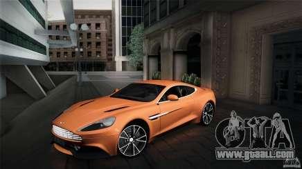 Aston Martin Vanquish V12 for GTA San Andreas