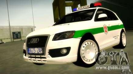 Audi Q5 TDi - Policija for GTA San Andreas