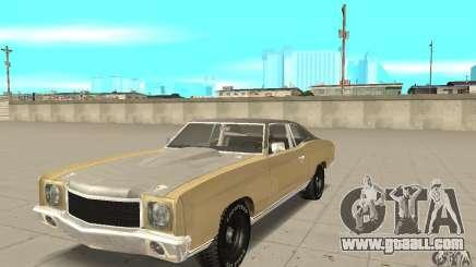 Chevy Monte Carlo [F&F3] for GTA San Andreas