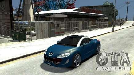 Peugeot 308 RC Z 2010 for GTA 4