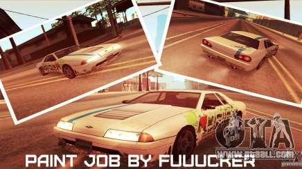 Paintjob for Elegy for GTA San Andreas