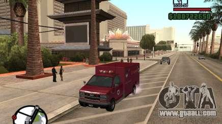 Ambulance from GTA IV for GTA San Andreas