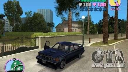 BMW 635 CSi for GTA Vice City