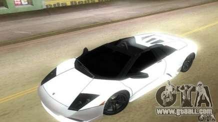 Lamborghini Murcielago LP640 Roadster for GTA Vice City