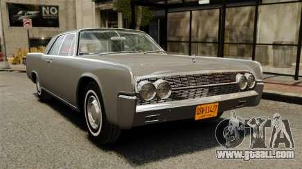 Lincoln Continental 1962 for GTA 4