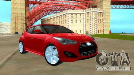 Hyundai Veloster Turbo v1.0 for GTA San Andreas