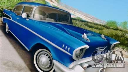 Chevrolet Bel Air 4-Door Sedan 1957 for GTA San Andreas