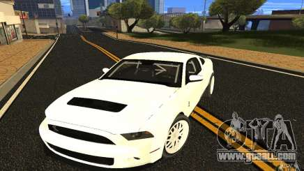 Shelby Mustang 1000 2012 for GTA San Andreas