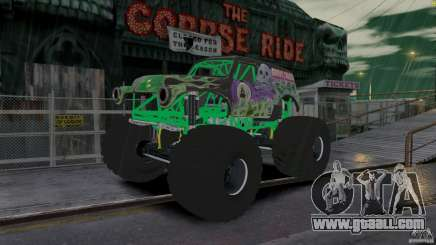 Grave digger for GTA 4