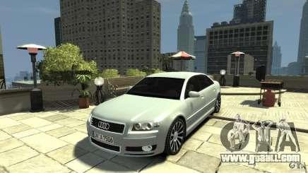Audi A8 4.2 QUATTRO beta for GTA 4