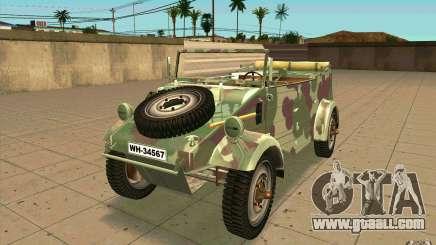 Kuebelwagen for GTA San Andreas