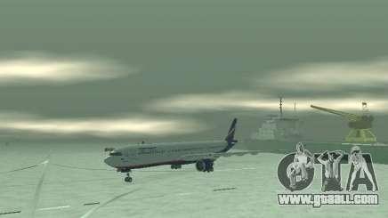 The Airbus A330-300 Aeroflot for GTA San Andreas