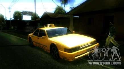 Sunrise Taxi for GTA San Andreas