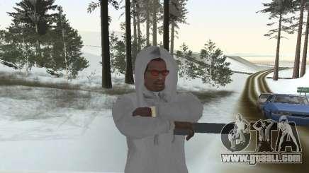 Sweatshirt with hood for GTA San Andreas