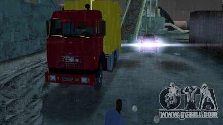 Kamaz Garbage Truck for GTA Vice City