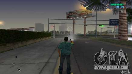 Infinite ammo for GTA Vice City