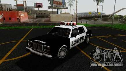 Greenwood Police LS for GTA San Andreas