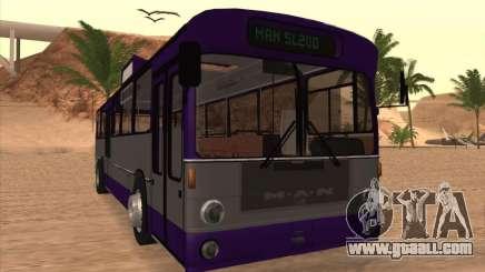 MAN SL200 Exclusive v.1.00 for GTA San Andreas