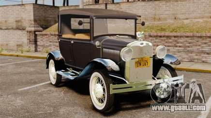Ford Model T 1924 for GTA 4
