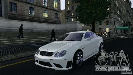 Mercedes-Benz CLK63 AMG for GTA 4