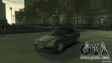 Mercedes Benz S550 for GTA 4