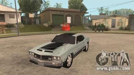 SabreGT from GTA 4 for GTA San Andreas