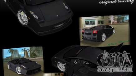 Lamborghini Gallardo Hamann Tuning for GTA Vice City