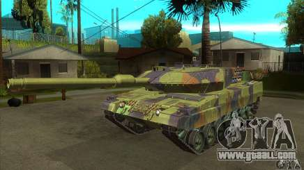 Leopard 2 A6 for GTA San Andreas