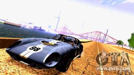 Shelby Cobra Daytona Coupe v 1.0 for GTA San Andreas