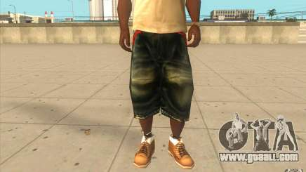 The BIG Makaveli Short Jeans for GTA San Andreas