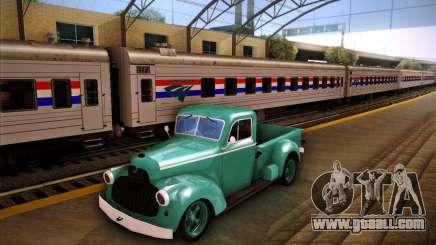 Shubert pickup for GTA San Andreas