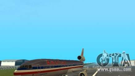 McDonell Douglas MD11 American Airlines for GTA San Andreas