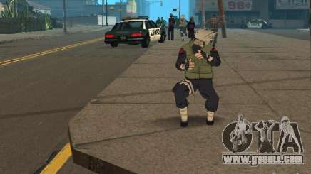 Hatake Kakashi From Naruto for GTA San Andreas