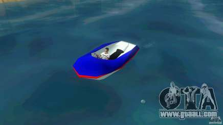 Speedboat dinghy for GTA Vice City